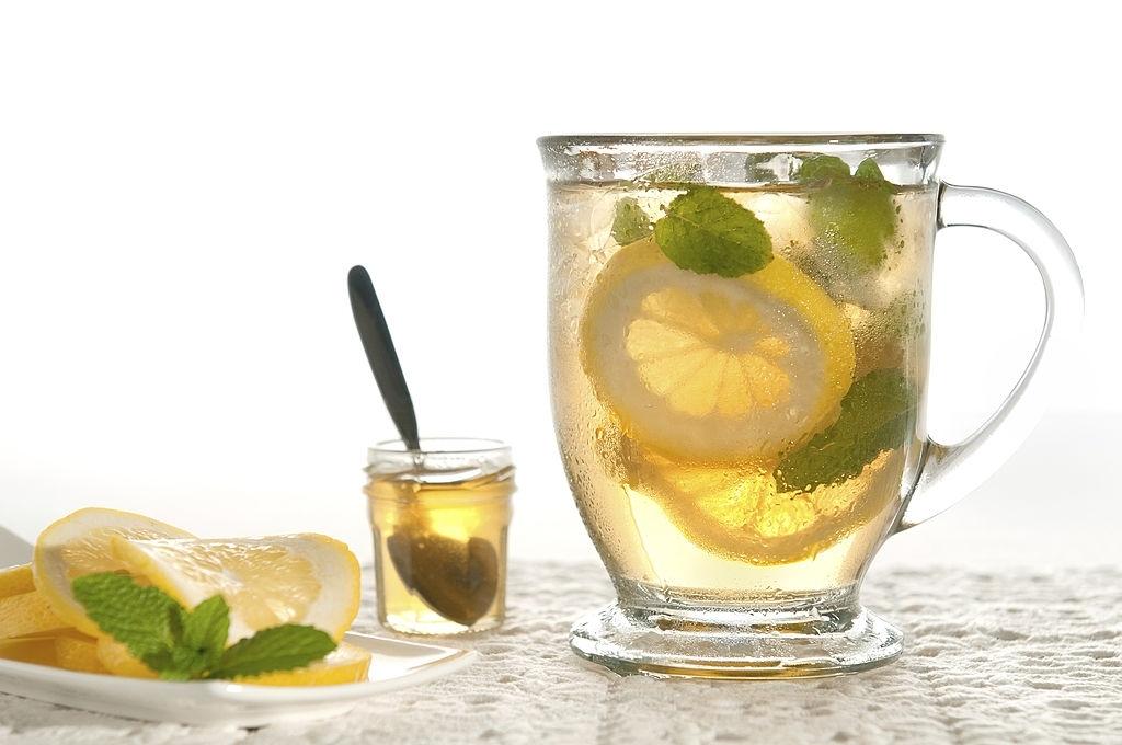 How to make Spearmint iced tea