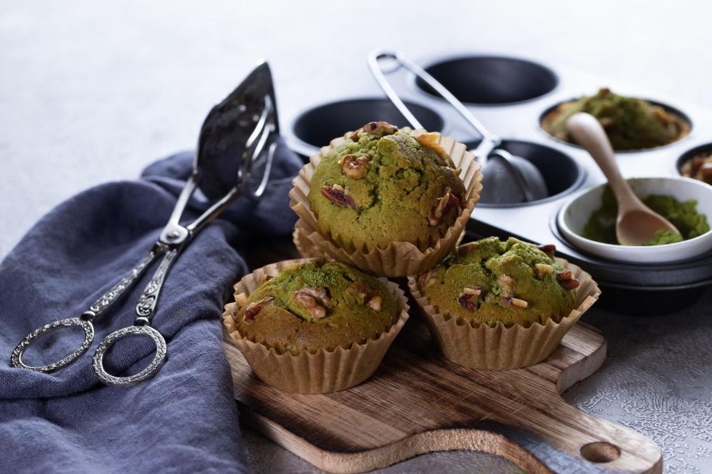 Delicious Matcha Muffins Recipe
