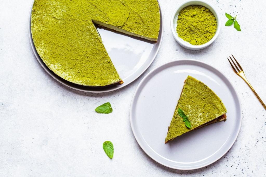 How to make matcha cheesecake