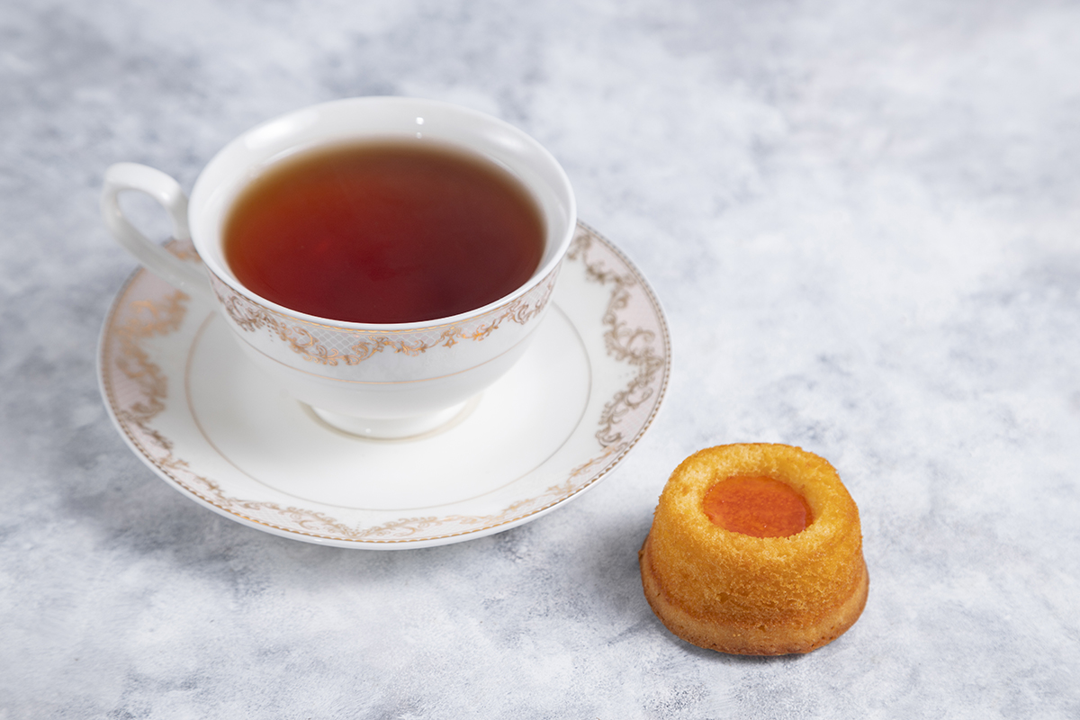 Pairing green tea with food: